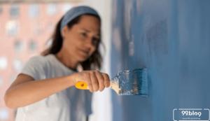 cara mengecat rumah