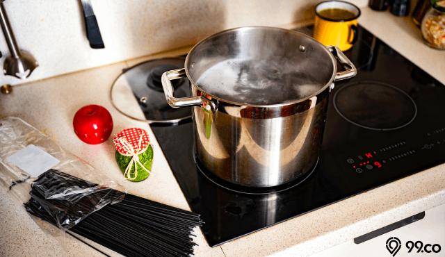 7 Kelebihan dan Kekurangan Kompor Tanam untuk Dipasang di Rumah