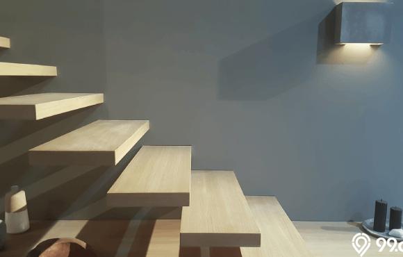 tangga rumah minimalis ruang sempit