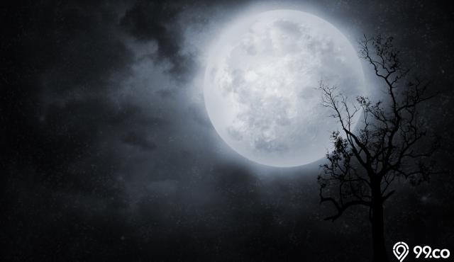 5 Mitos Bulan Purnama yang Misterius | Benarkah Bisa Bikin Kesurupan?
