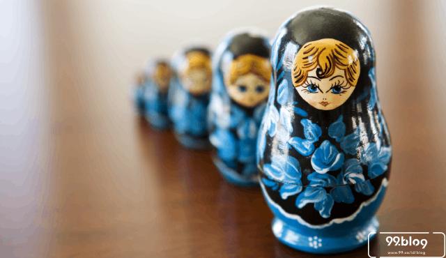 Matryoshka, Boneka Pelambang Kesuburan Perempuan di Rusia