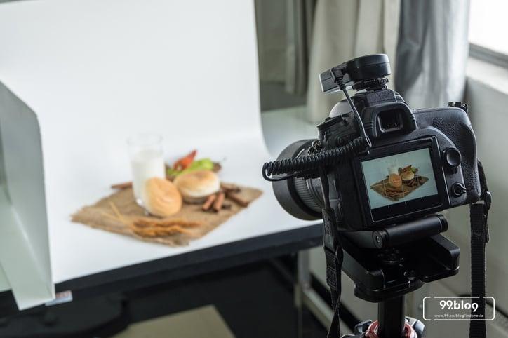 cara menfoto makanan