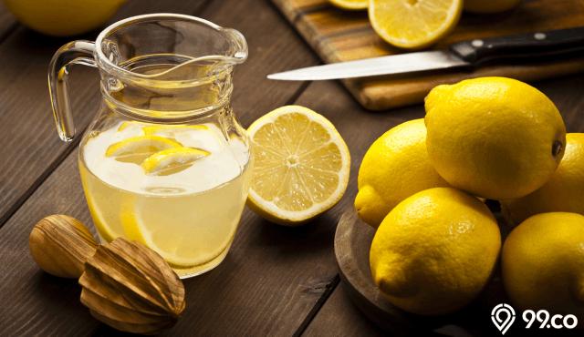 10+ Manfaat Air Rendaman Lemon untuk Kesehatan Tubuh yang Sempurna