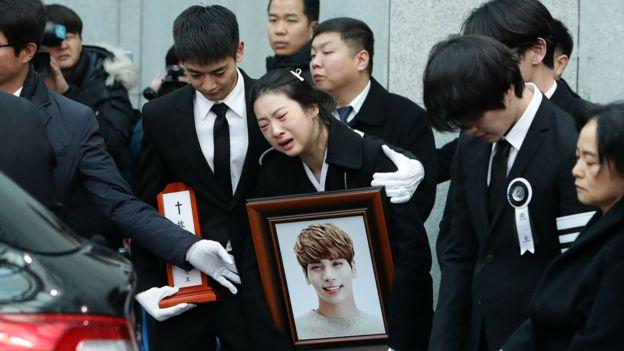 idol korea bunuh diri