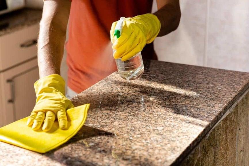 Cara Membersihkan Granit Countertops