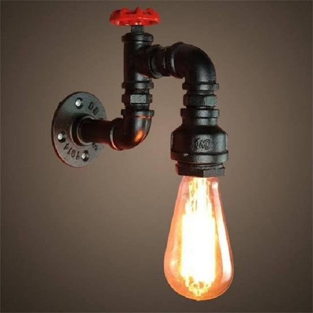 lampu dinding industrial