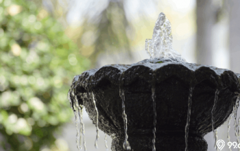 inspirasi air mancur taman