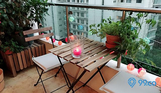 8 Inspirasi Desain Balkon Cantik di Lahan Sempit. Bikin Rumah Makin Menawan!