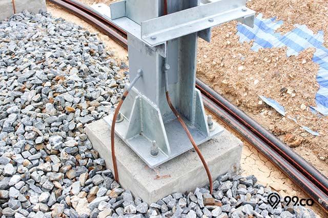 instalasi kabel penangkal petir