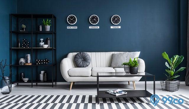 5 Kombinasi Warna Navy pada Interior Rumah | Bikin Nyaman Banget!