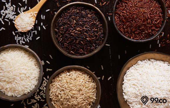 jenis beras dan nutrisinya