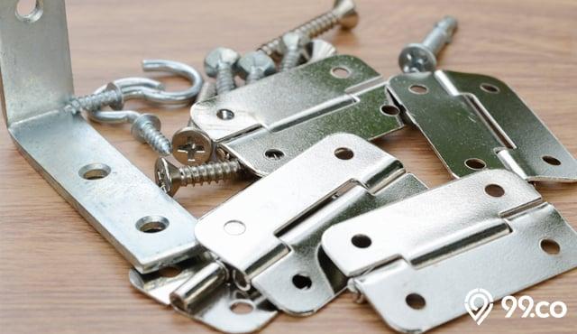 7 Jenis Engsel Pintu Rumah Standar Ukurannya Disertai Tips Merawat