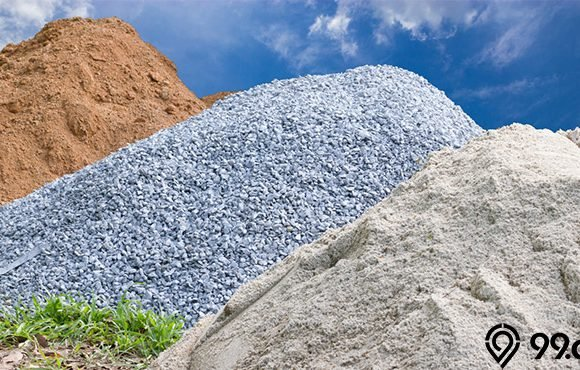 jenis jenis pasir