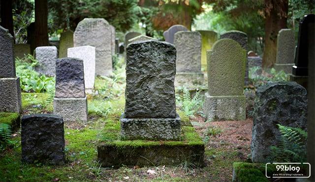 Ternyata Begini Lho Jenis Kuburan Asli Indonesia yang Jauh dari Kata Mewah