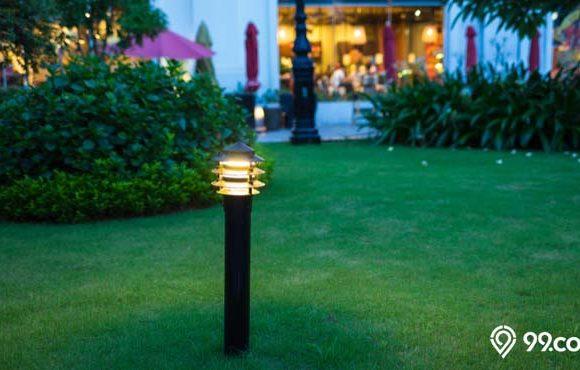 jenis lampu taman