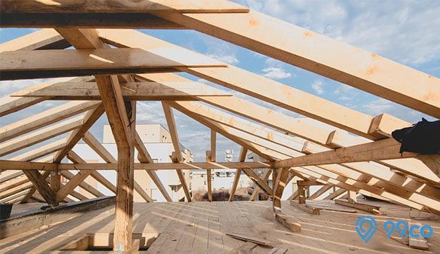Plus Minus 5 Material Rangka Atap Yang Wajib Diketahui