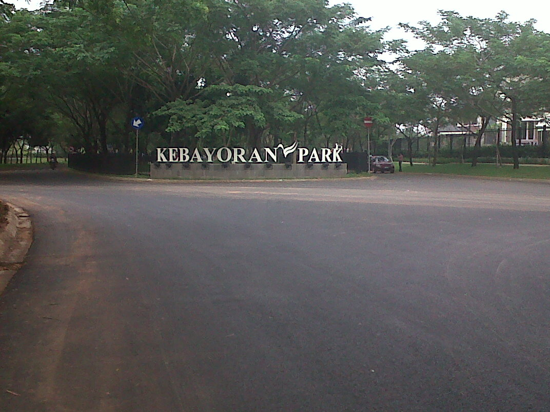 tempat jogging di bintaro kebayoran park