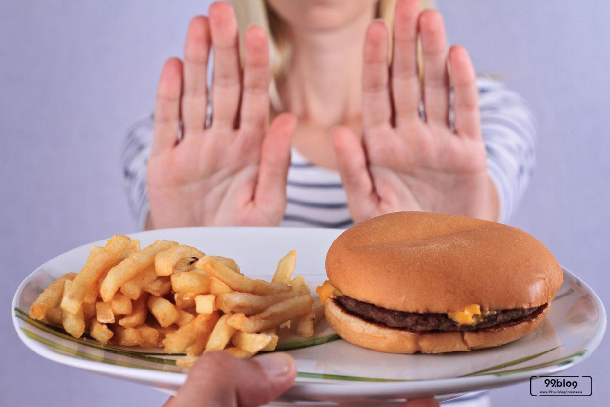cara menurunkan berat badan no junk food