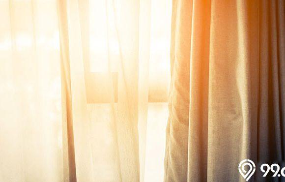 kain untuk gorden jendela