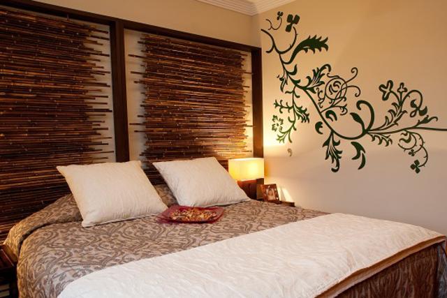 kamar bambu krem
