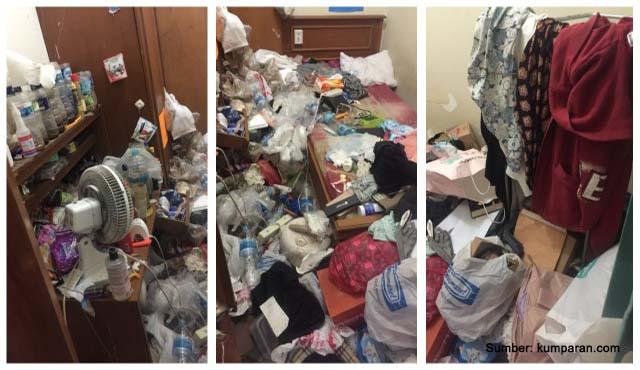 gangguan kamar berantakan