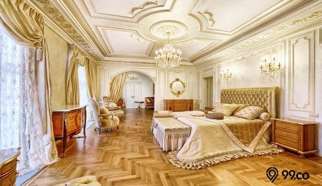 desain kamar hotel mewah