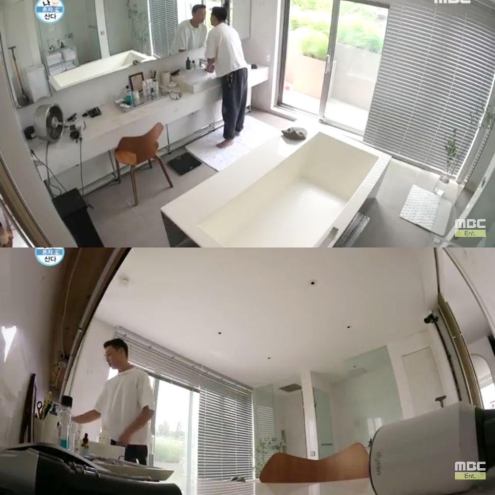 kamar mandi pribadi aktor korea pemain film burning