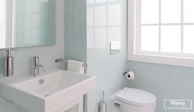 kamar mandi mungil