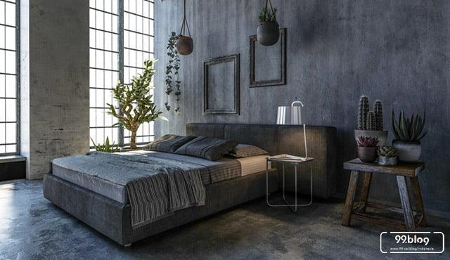 Ekspresikan Diri Lewat Desain Kamar Tidur Industrial yang Unik & Personal