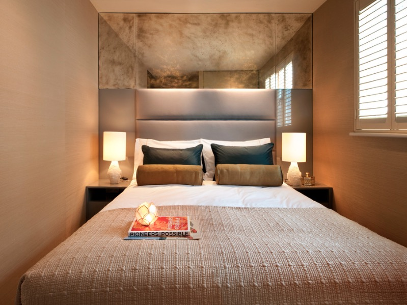 kamar tidur ukuran kecil