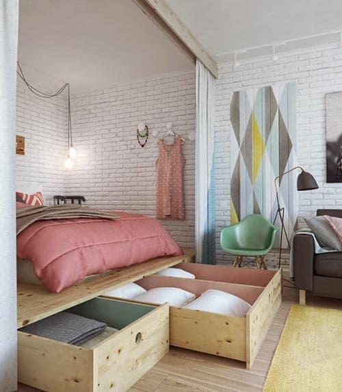 kamar ukuran kecil