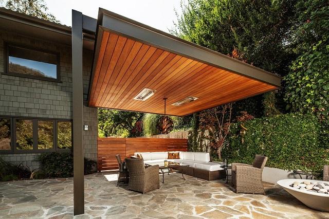 kanopi kayu