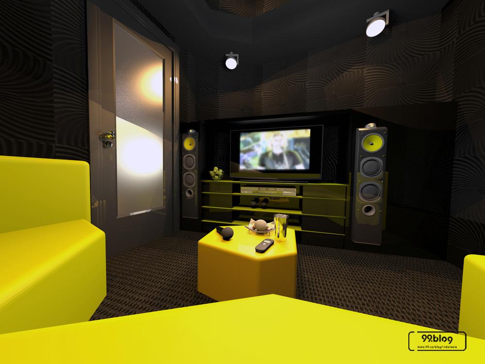 ruang karaoke kedap suara