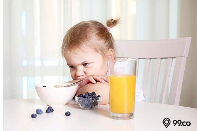 anak kehilangan nafsu makan