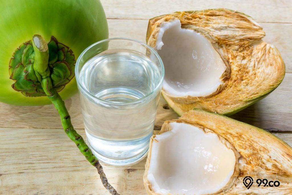 kandungan air kelapa muda