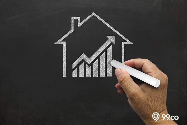 kenaikan saham emiten properti