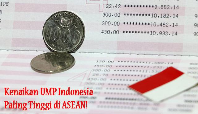kenaikan UMP Indonesia Asean