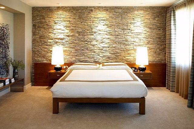 keramik dinding kamar tidur batu alam