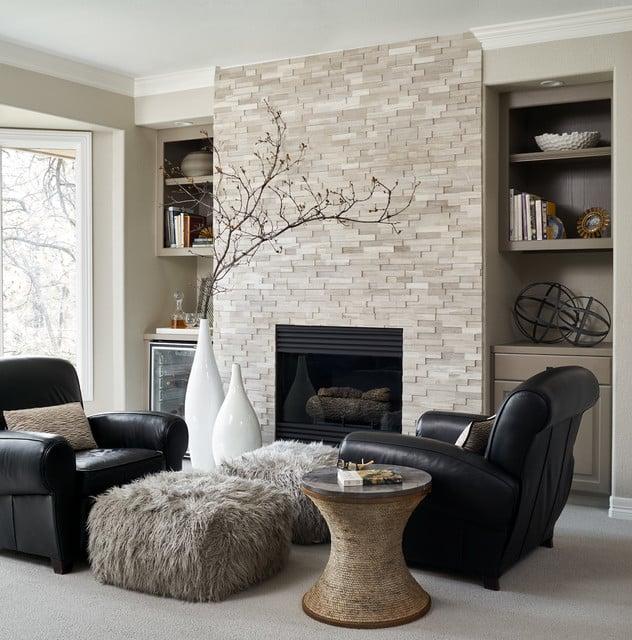 keramik dinding ruang tamu