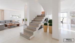 keramik tangga rumah modern