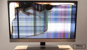 kerusakan warna TV LED