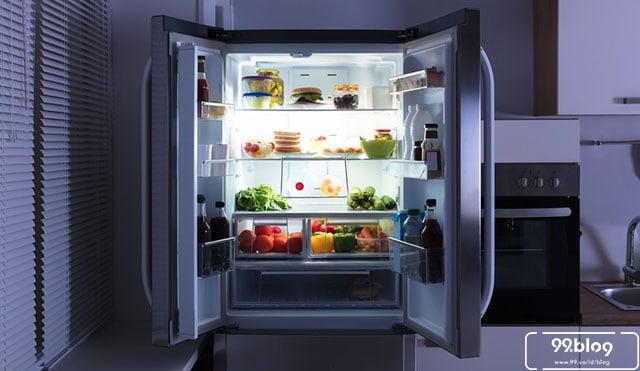 kesalahan penggunaan kulkas