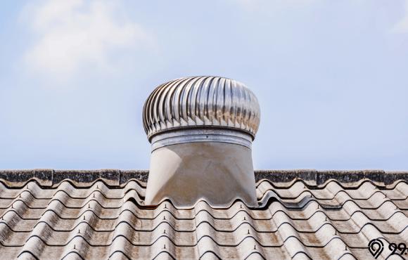 keuntungan memasang turbin ventilator
