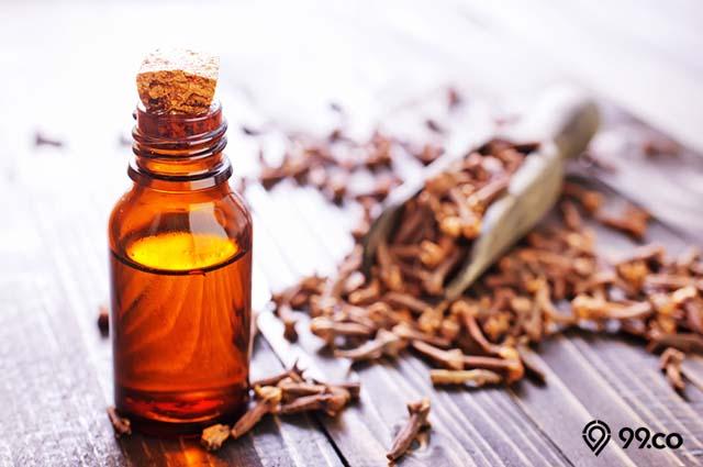 khasiat minyak cengkih untuk obati jamur