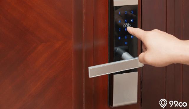 14 Rekomendasi Harga Kunci Pintu Rumah Digital Konvensional 2020