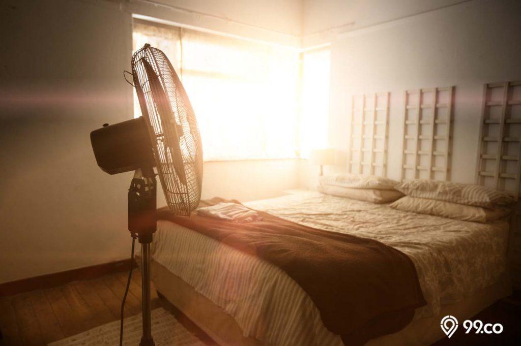 kipas angin untuk menjaga suhu ruangan