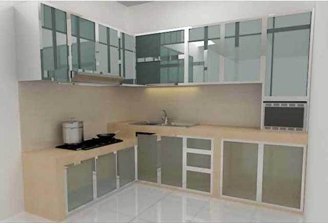 6 Model Kitchen Set Aluminium Untuk Rumah Minimalis Suka Yang Mana