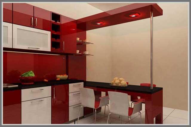 6 Model Kitchen Set Aluminium untuk Rumah Minimalis. Suka ...