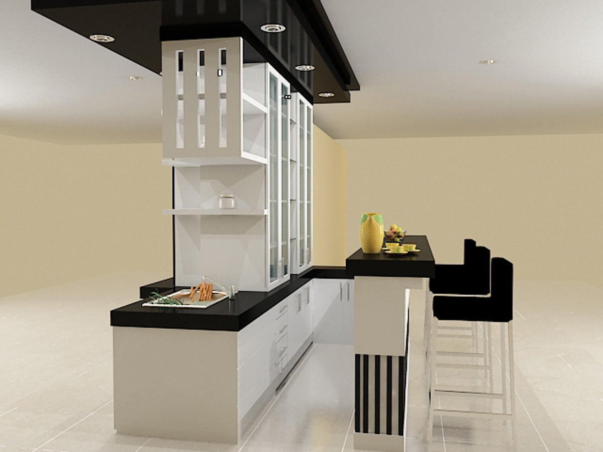 desain pantry terbaru