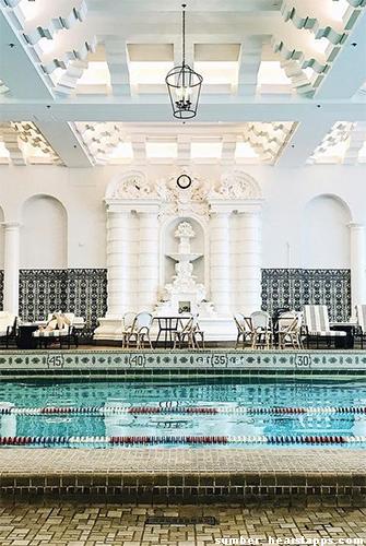 desain kolam renang indoor termewah